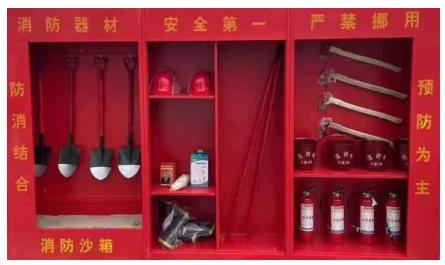 青岛工地消防柜_工地消防展示柜 -金硕消防厂家